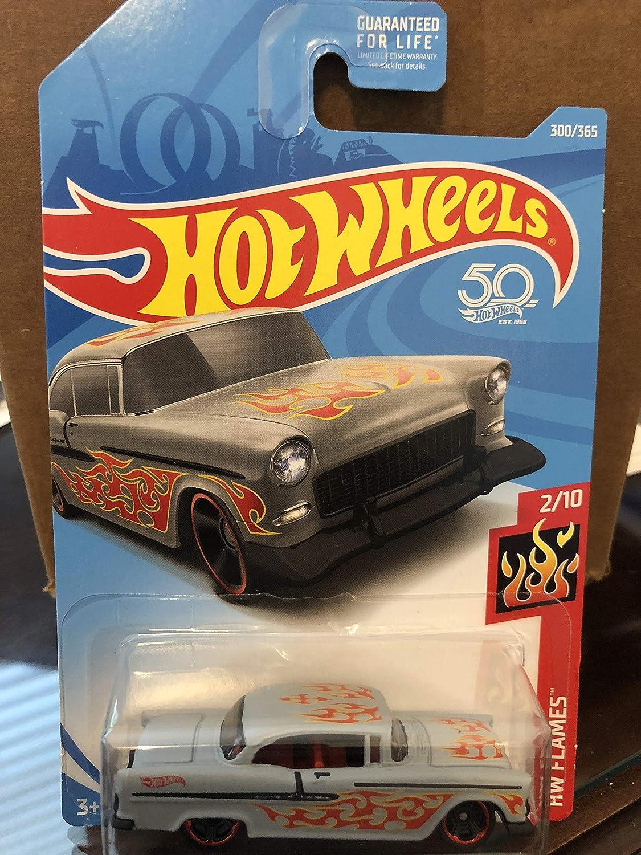 2018 Hot Wheels #12 HW Flames /'55 Chevy