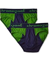 Chromozome Men's Cotton Brief (pack of 2)
