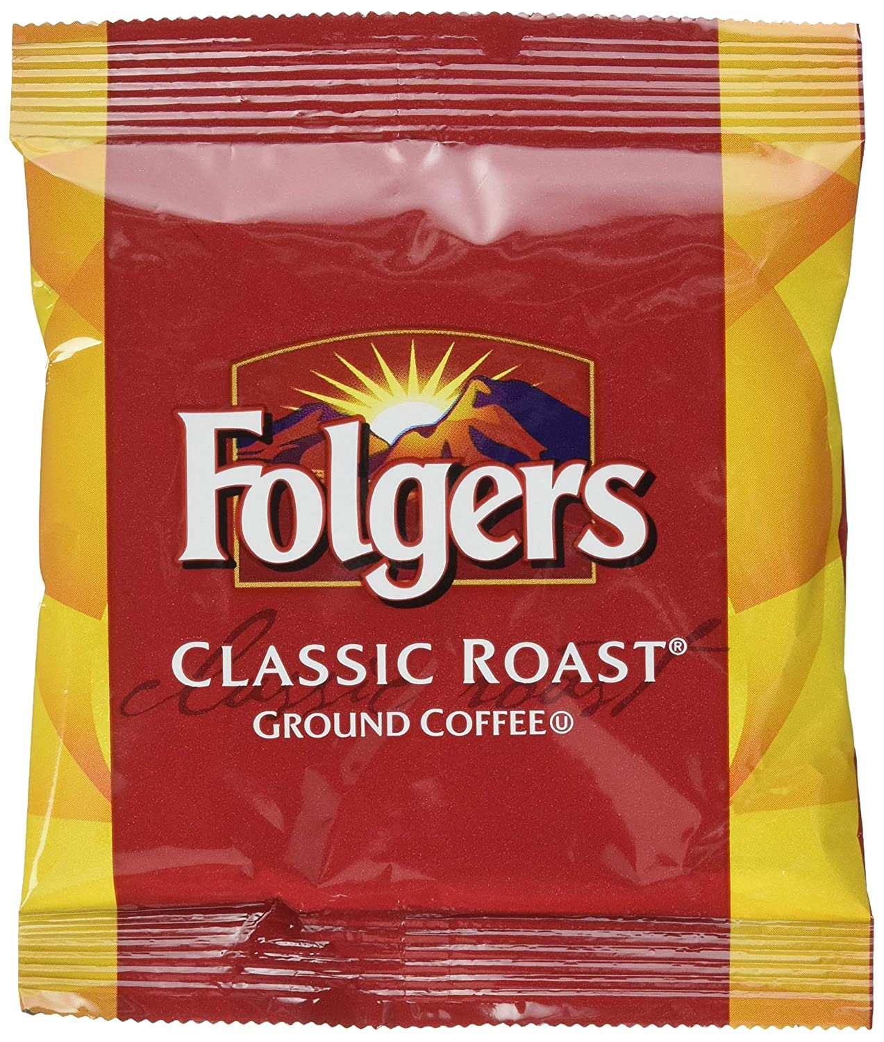 Folgers Classic Roast Coffee Packets, 42Count
