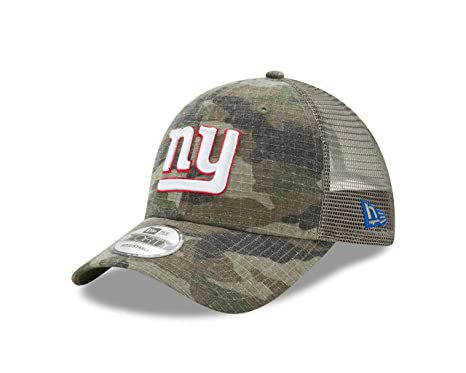 7ec29a4fd45 Image Unavailable. Image not available for. Color  New York Giants New Era  Trucker Dual Mesh 9Forty Adjustable hat - Camo