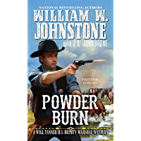 Powder Burn (A Will Tanner Western Book 3) book cover