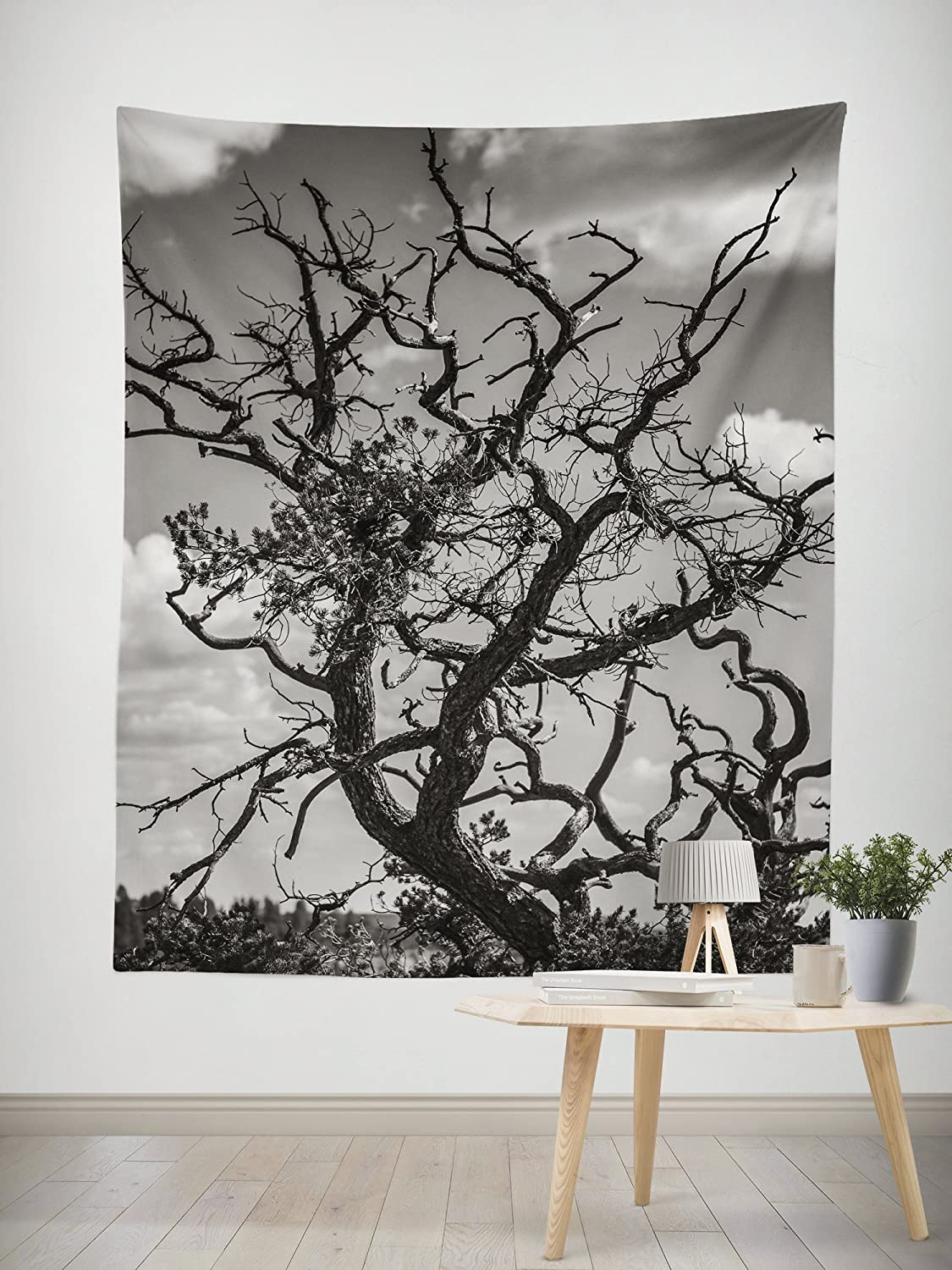Amazon com tree branches large wall tapestry fine art wall hanging