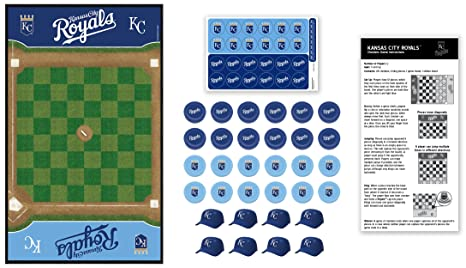 6a21729a6cf8 Buy MasterPieces MLB Kansas City Royals Checkers Board Game Online at Low  Prices in India - Amazon.in