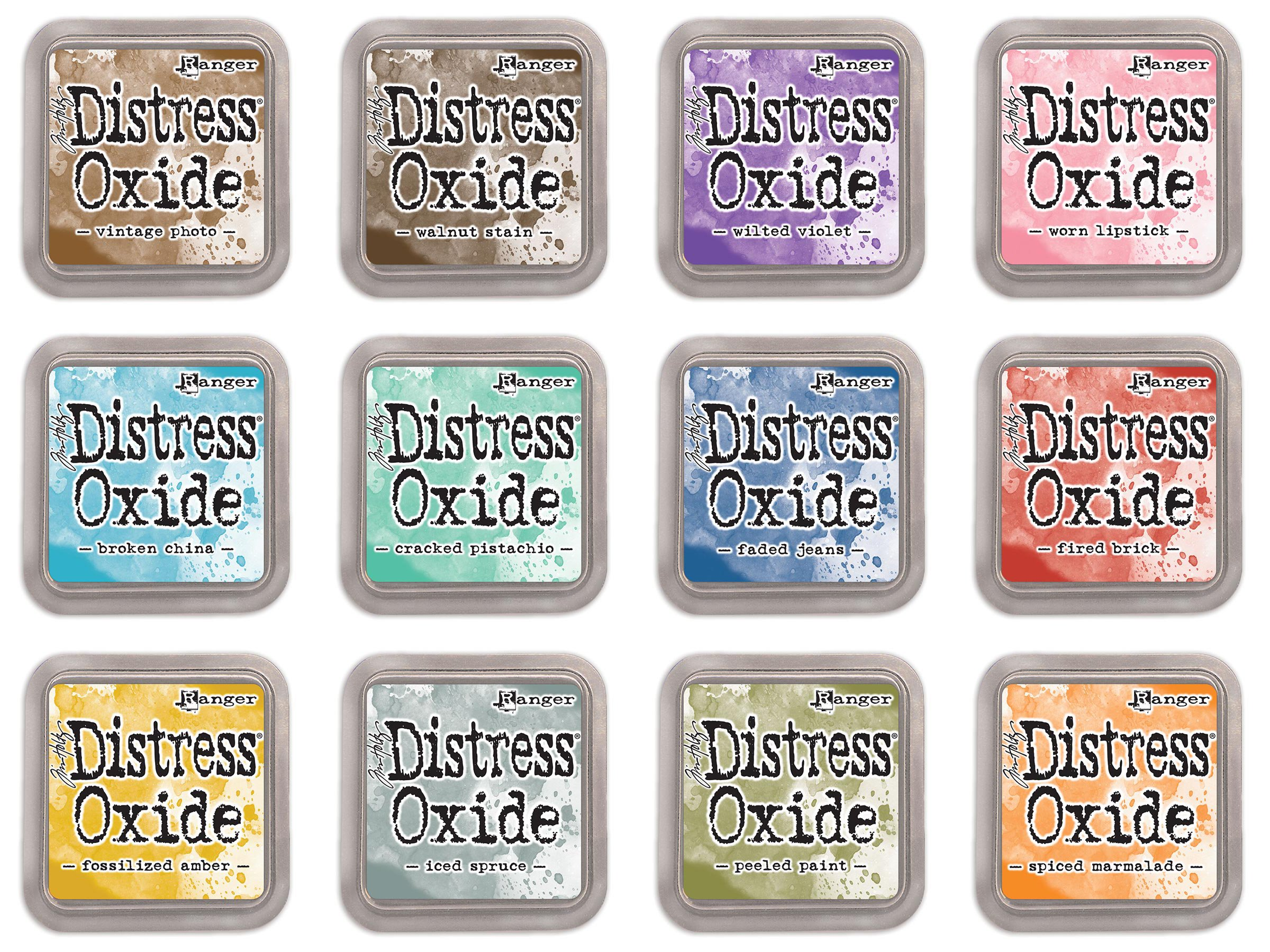 Tim Holtz Distress Oxide Ink Bundle January 2017