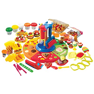 PlayGo Dough Deluxe Food Set Children's Art Doughs: Toys & Games