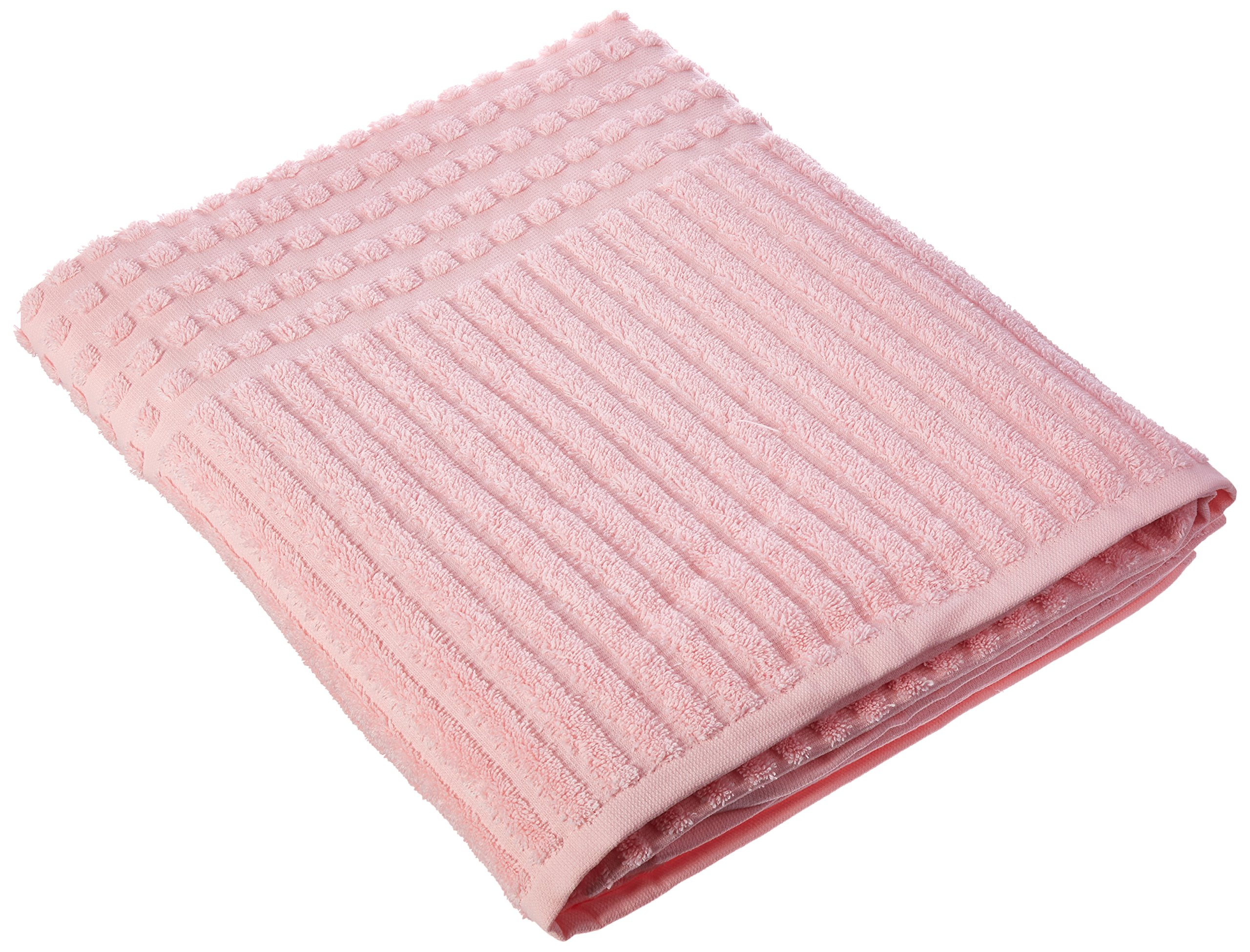 Berrnour Home Piano Collection Turkish Cotton Bath Sheet, (Pink), 39 X 59 Inch