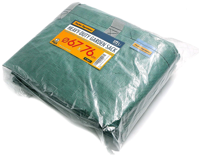 /φ67 x 76cm Plastic Dynamics/® x3 Heavy-Duty Garden Sack 272L