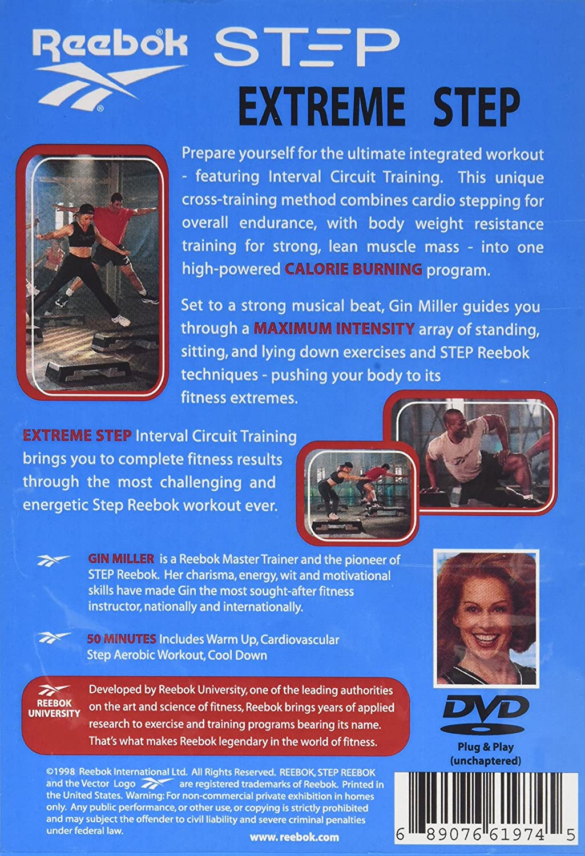 f3e3c46735 Amazon.com  Step Reebok  Extreme Step  Gin Miller  Movies   TV