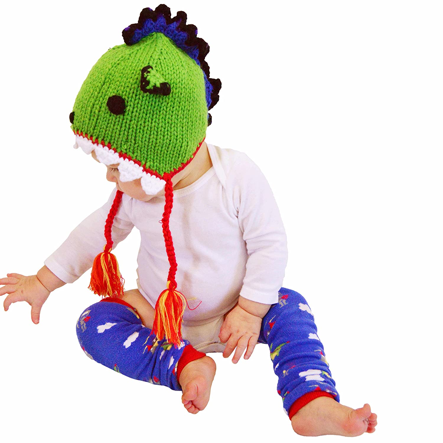 9fbe8efee7f Amazon.com  Huggalugs Baby and Toddler Dragon Beanie Hat