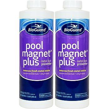Amazon Com Bioguard Pool Magnet Plus 1 Qt 2 Pack