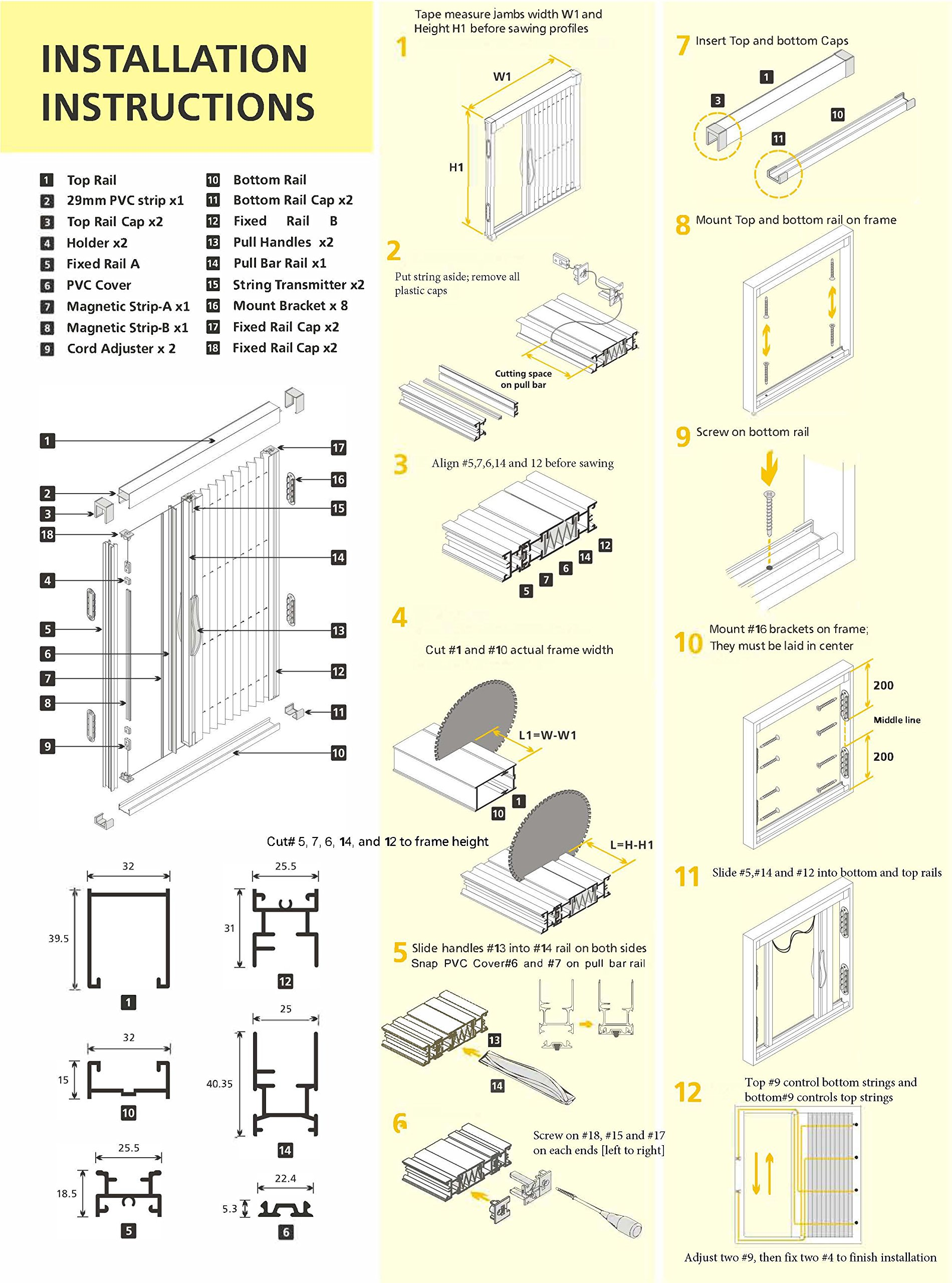 Diy Screen Door Kit Greenweb Retractable Screen Door 40 Inch By 84 Inch Kit Diy