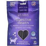 Get Naked Grain Free 1 Pouch 6.2 Oz Digestive Health Dental Chew Sticks, Small