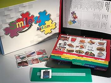 Autism ASD ADHD Apraxia 156 Laminate Visual Pic Symbol Cards Communication Book