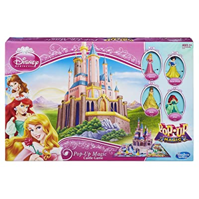 Disney Princess Pop-Up Magic Pop-Up Magic Castle Game: Toys & Games