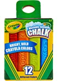 Crayola Washable Sidewalk Chalk, 12 Classic Crayola Colours, Creative Art outside in the fresh air and sunshine, perfect…