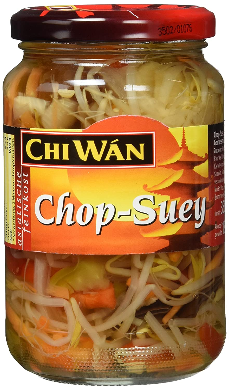 Chi Wán Chop Suey - Gemüsemix Glas, 4er Pack (4 x 350 g): Amazon.de ...