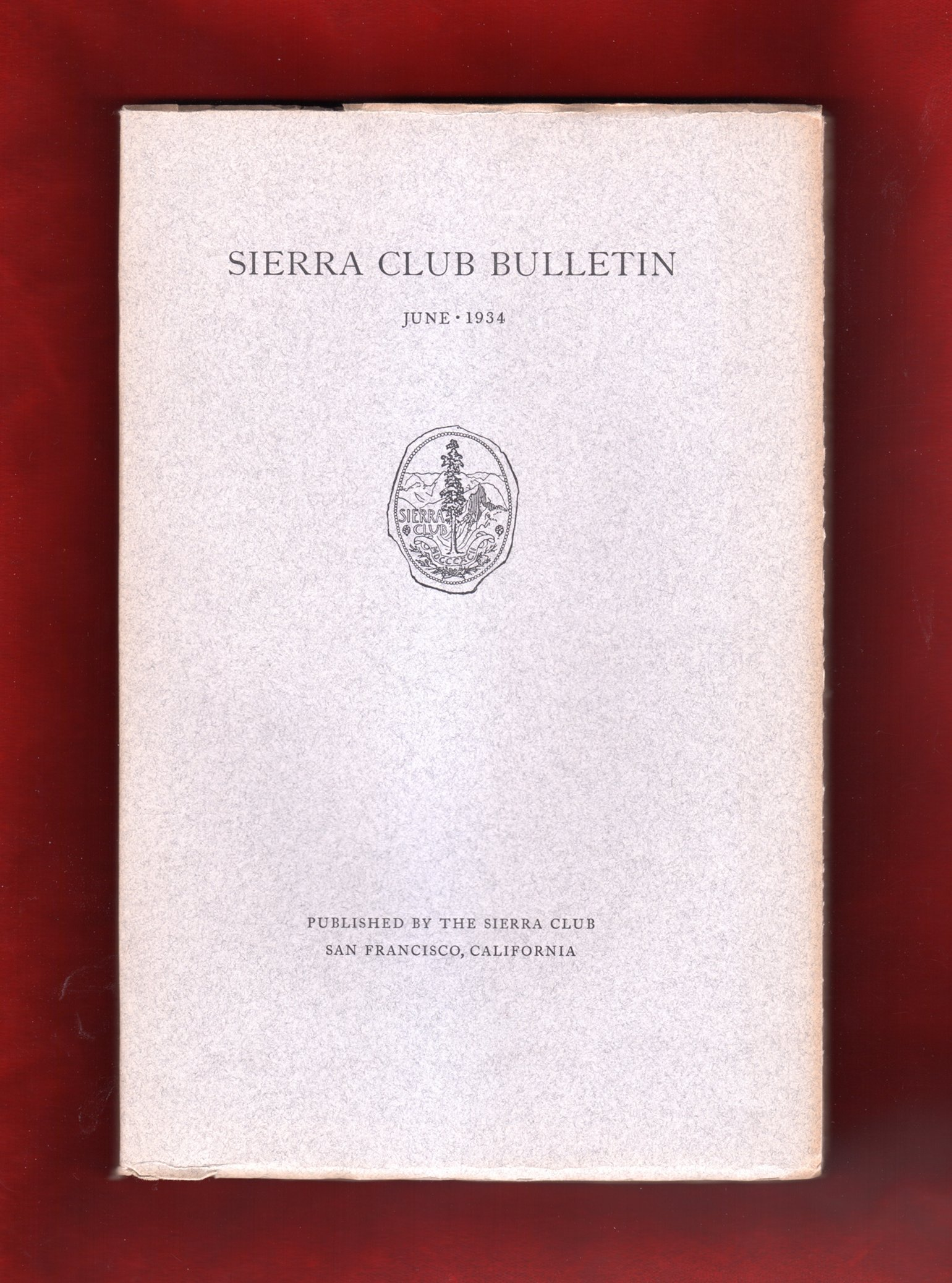 sierra club bulletin june 1934 9 ansel adams photographs john muir ralph waldo emerson in yosemite mount humphreys the devils crags north palisade three teeth of sawtooth ridge