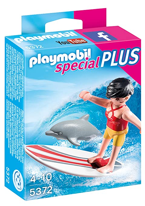 Playmobil - Surfista con Tabla de Surf (53720)