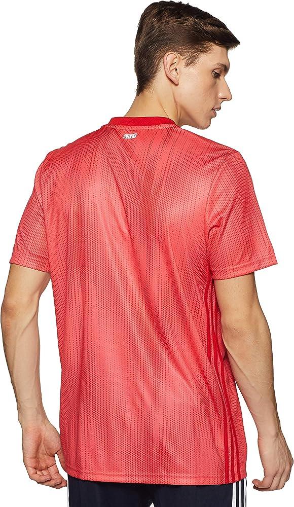 adidas Real 3 JSY Camiseta, Hombre, Rosa, XS: Amazon.es: Ropa y accesorios