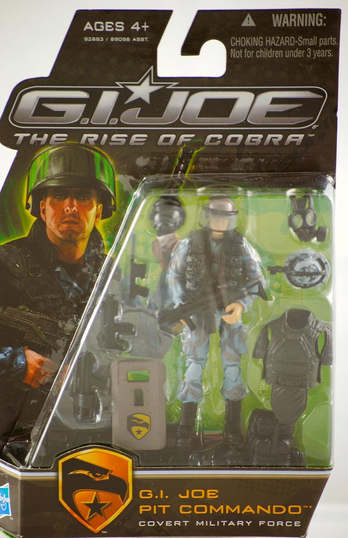 barato G.I. Joe el Rise de Cobra 3 3 3 3 4  figura de acción Pit Commando (Coverde fuerza militar)  ahorra hasta un 30-50% de descuento