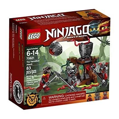 LEGO Ninjago The Vermillion Attack 70621 Building Kit (83 Piece): Toys & Games