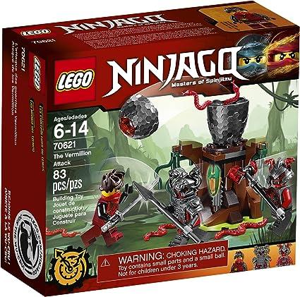 Amazon.com: LEGO Ninjago - Kit para armar The Vermillion ...