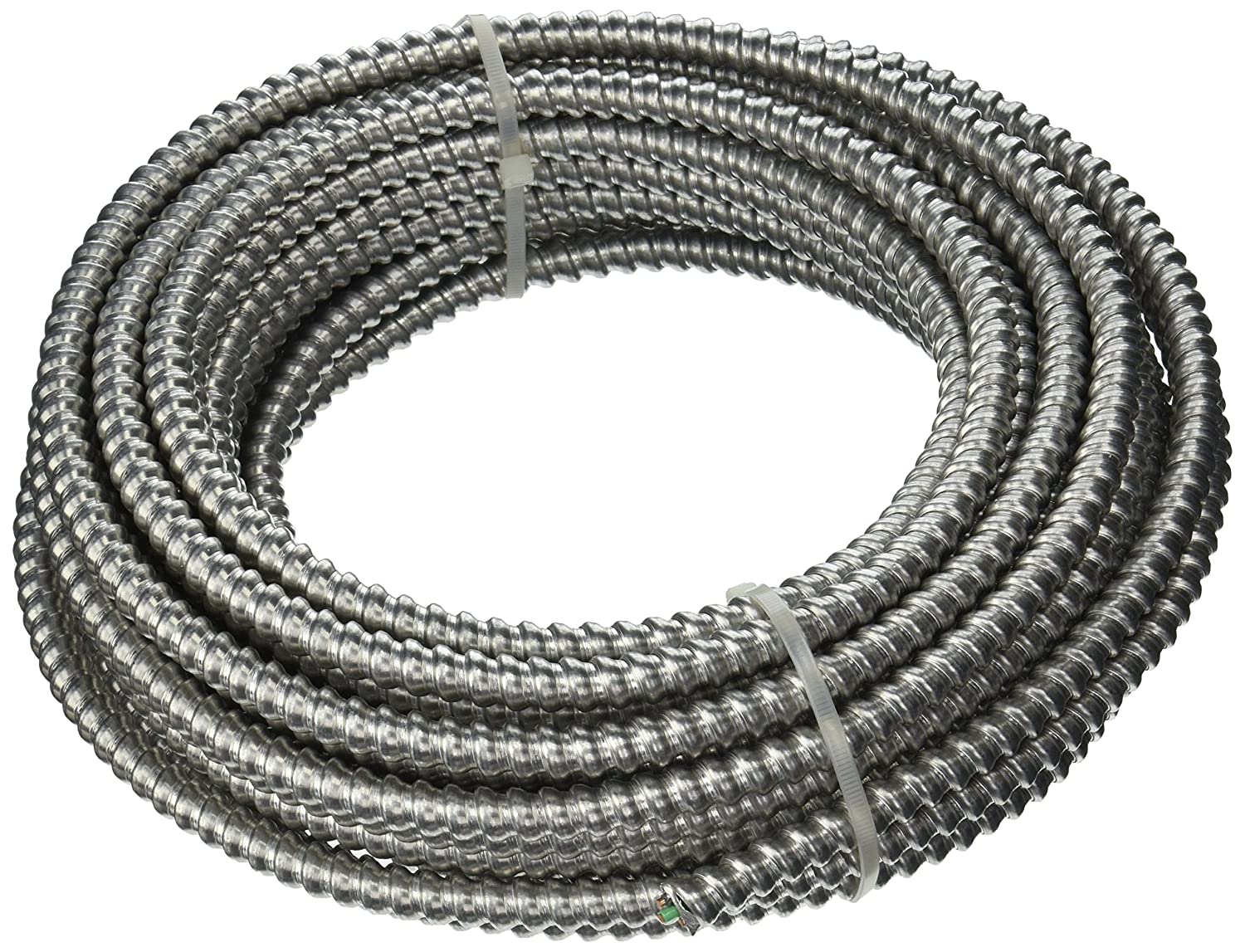 Southwire 68580022 50-Foot 12-Gauge 2-Conductor Type MC Conduit ...