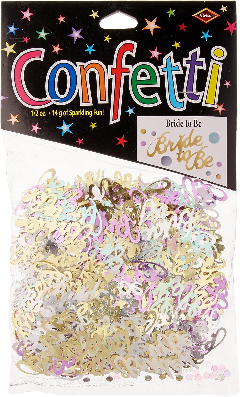 Beistle Bride to be Confetti