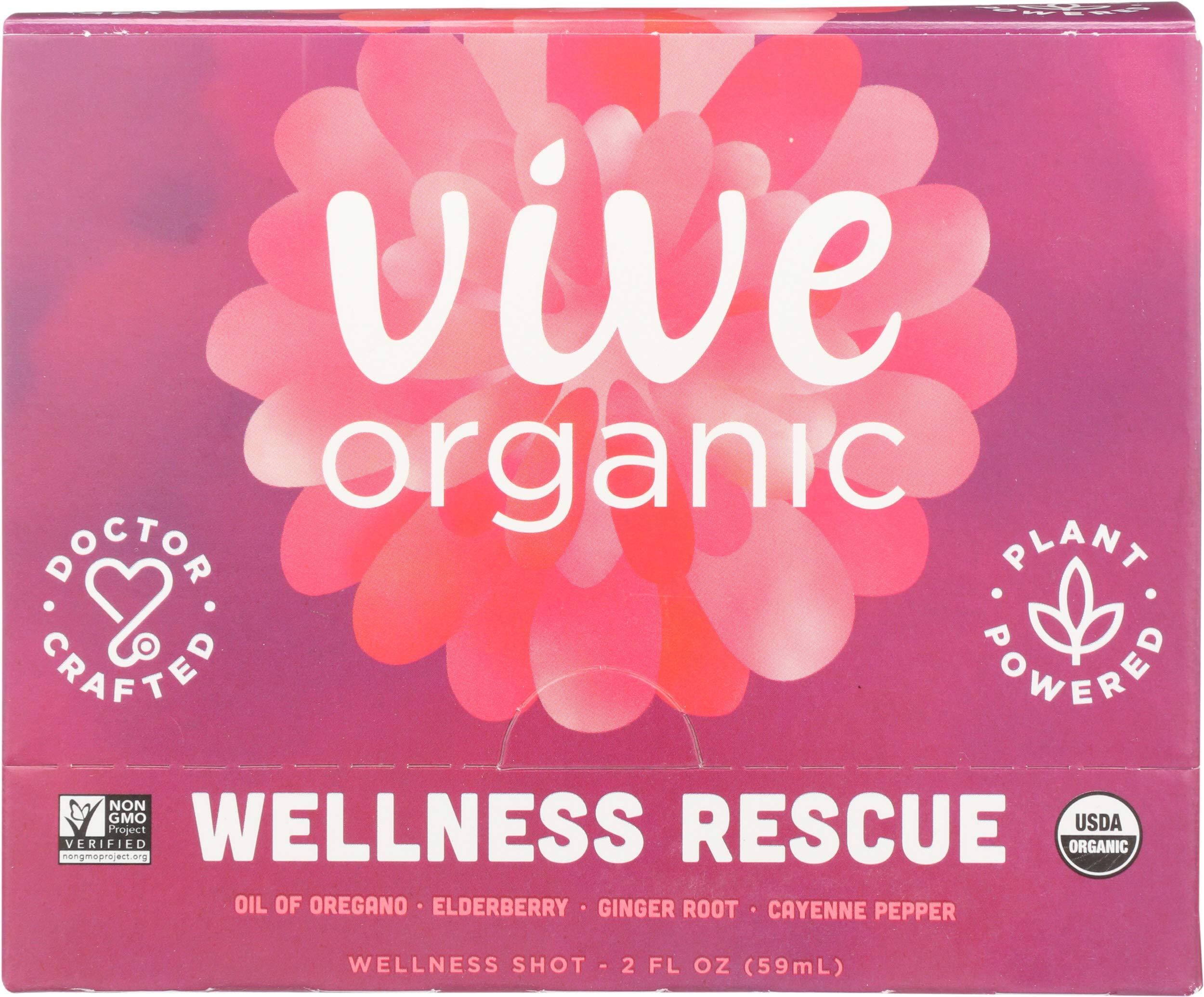 Vive Organic, Shot Wellness Rescue Case, 12 Count