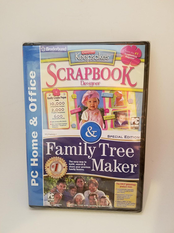 Amazon Scrapbook Designer Family Tree Maker By Broderbund
