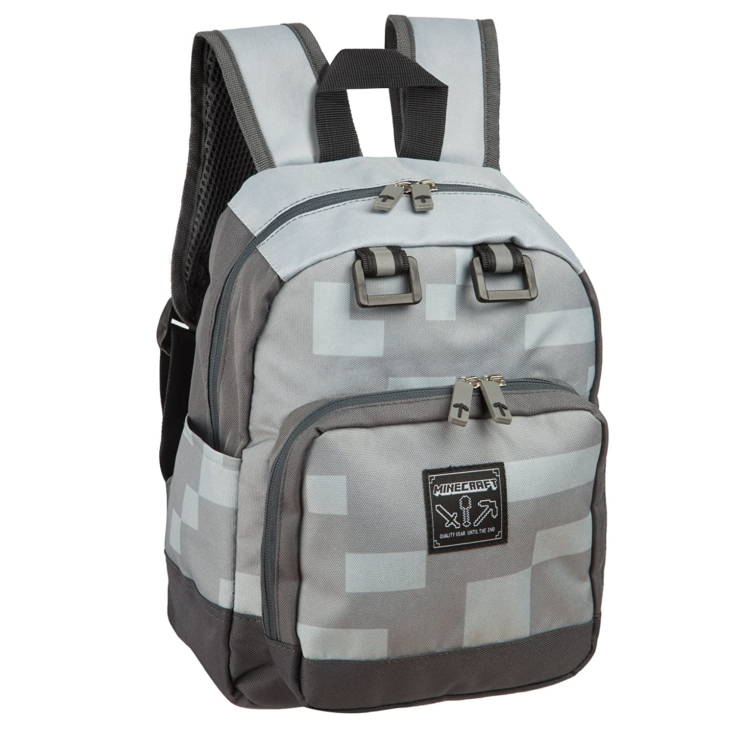 Minecraft - Mochila oficial de Minecraft modelo Diamond Mini para niños/niñas Fashion UK