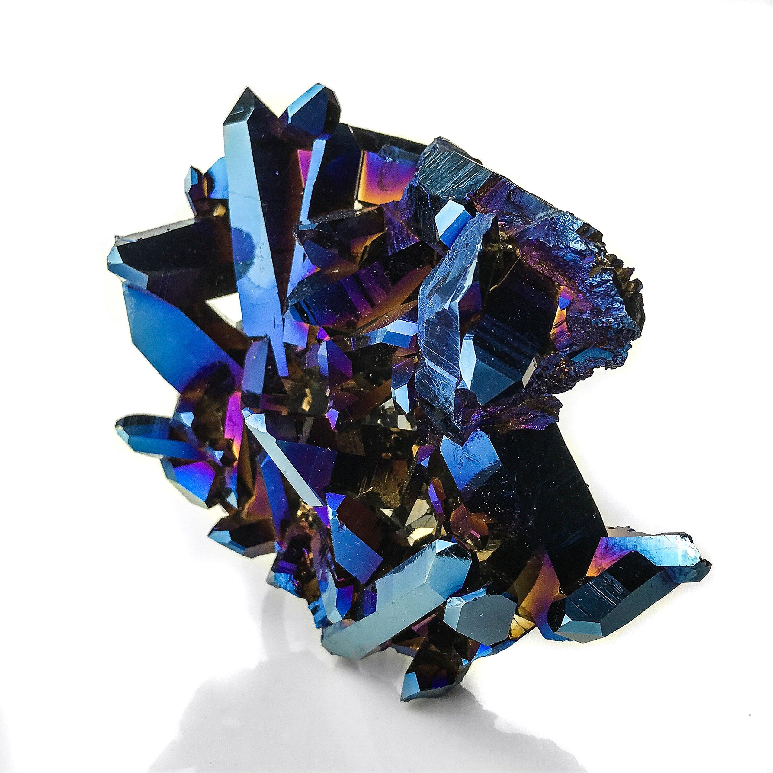 Cobalt Aura Quartz by Astro Gallery Of Gems (Image #2)