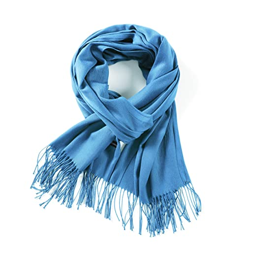 b3395e2ff1846 Pashmina Scarfs for women Shawls and Wraps Cashmere Scarves Solid Color The  Twins Dream