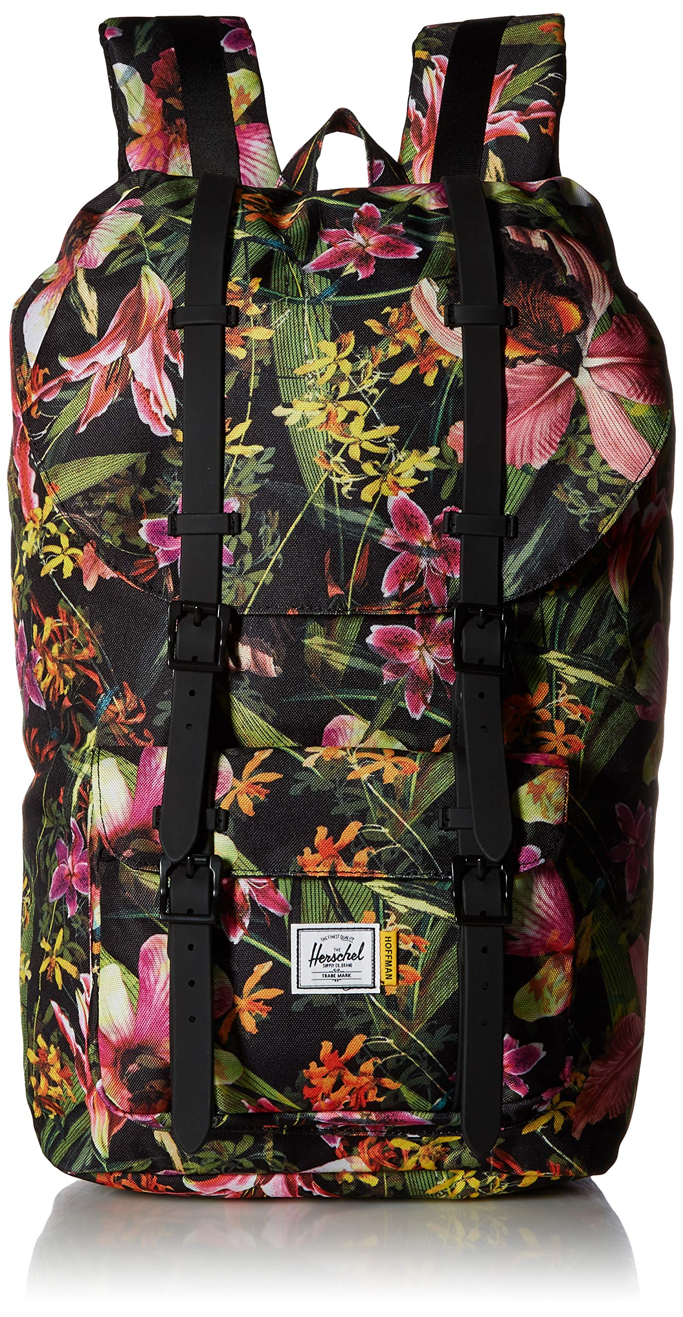 Herschel Supply Co. Little America Flapover Backpack, Jungle Hoffman, Classic 25L by Herschel
