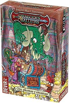 Devir- Dragones & gallinas Juego de Mesa, Miscelanea (BGDRAGA): Amazon.es: Juguetes y juegos
