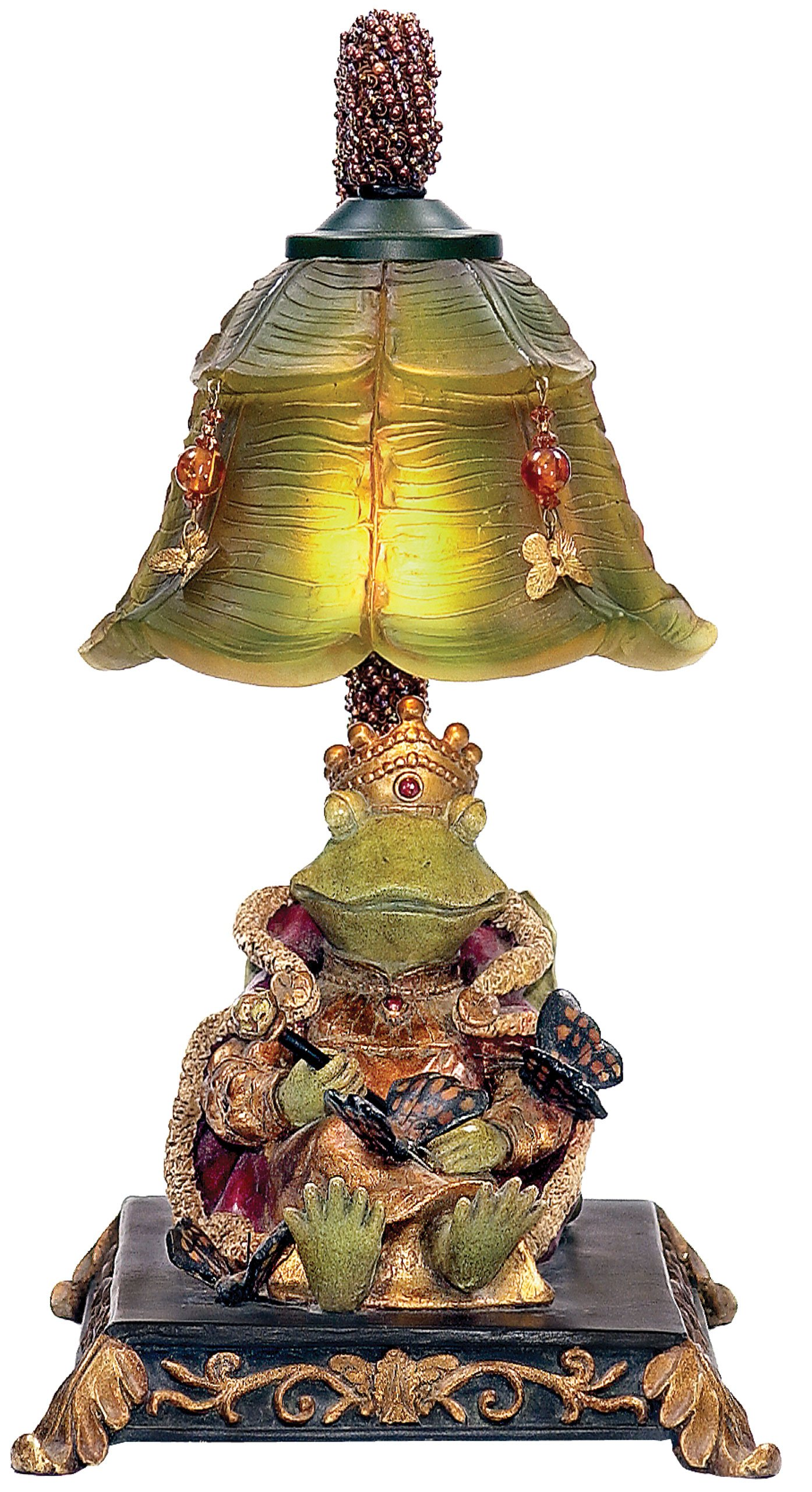 Sterling Home 91-331 Resting Queen Frog Table Lamp