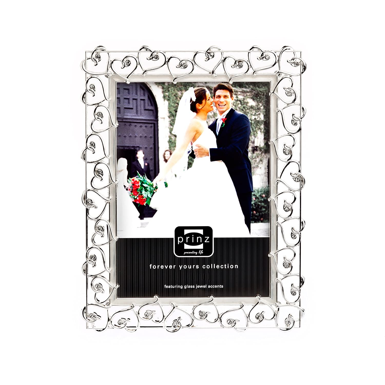 PRINZ 8-Inch by 10-Inch Bliss Silverplated Metal Frame Prinz Frames 2119-181