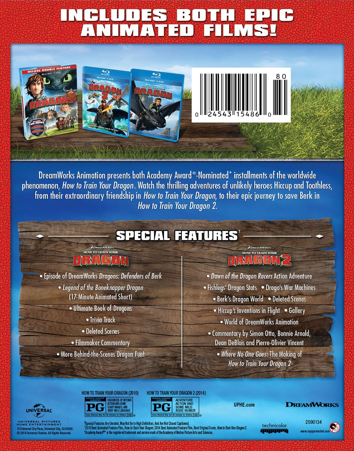 Amazon dragons deluxe double feature how to train your dragon amazon dragons deluxe double feature how to train your dragonhow to train your dragon 2 blu ray dvd jay baruchel cate blanchett gerard butler ccuart Choice Image