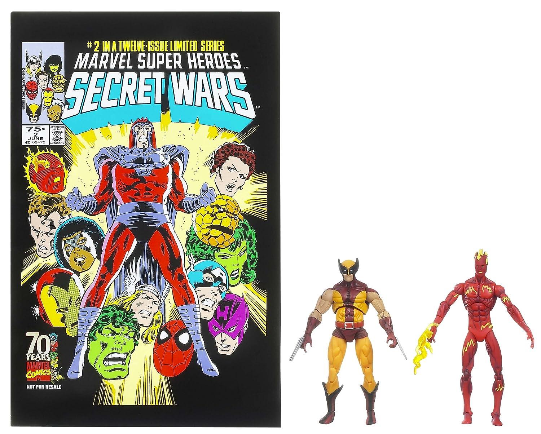 Torch /& Wolverine Marvel 25th Anniversary Comic 2pk