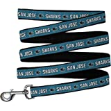 Pets First NHL SAN JOSE SHARKS LEASH for DOGS & CATS, Large. - Walk Cute & Stylish! The Ultimate HOCKEY FAN Leash!