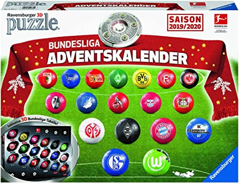 Ravensburger 11681 Bundesliga Adventskalender Saison 2019 2020
