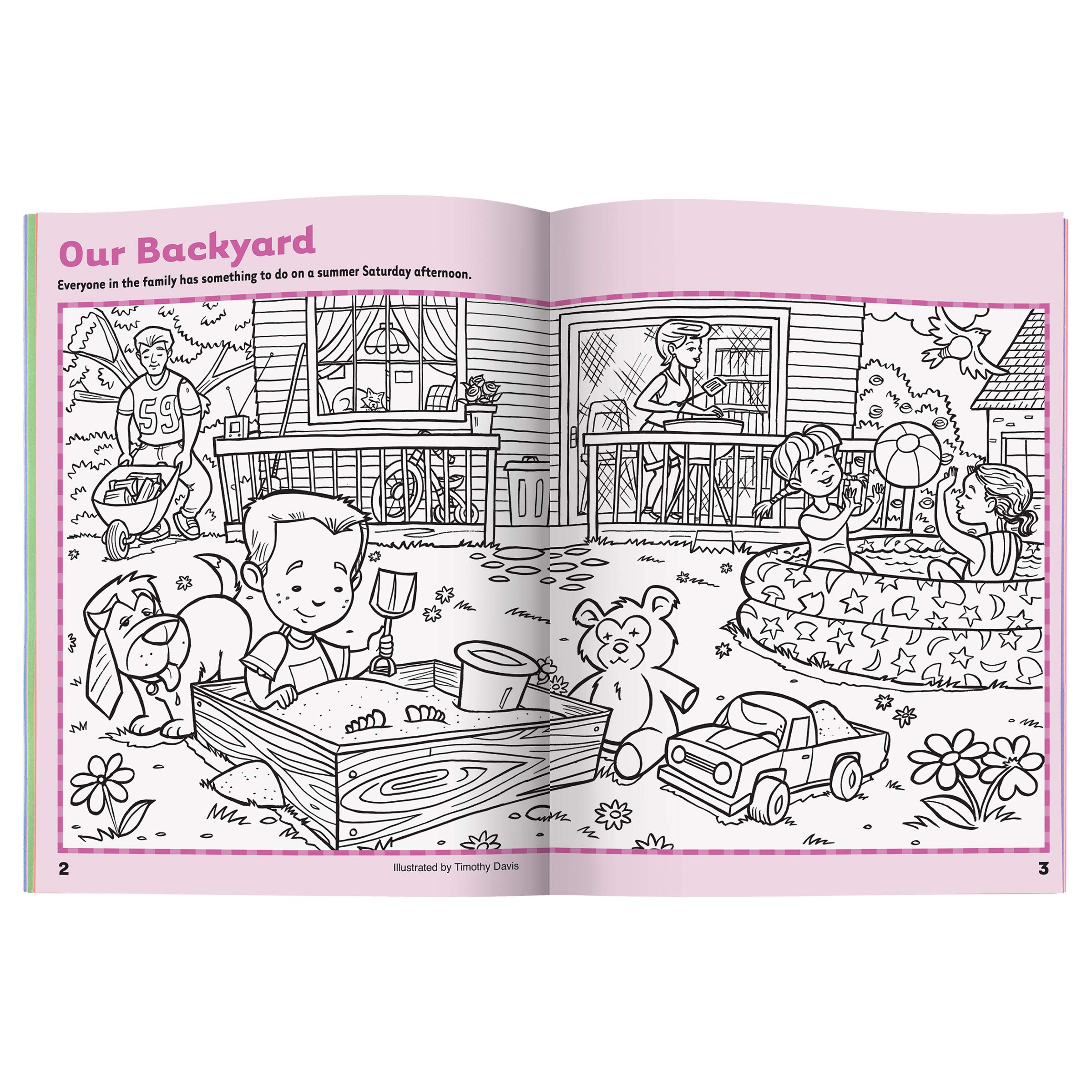 Highlights Hidden Pictures Sticker Fun 4 Book Set Weshop Vietnam