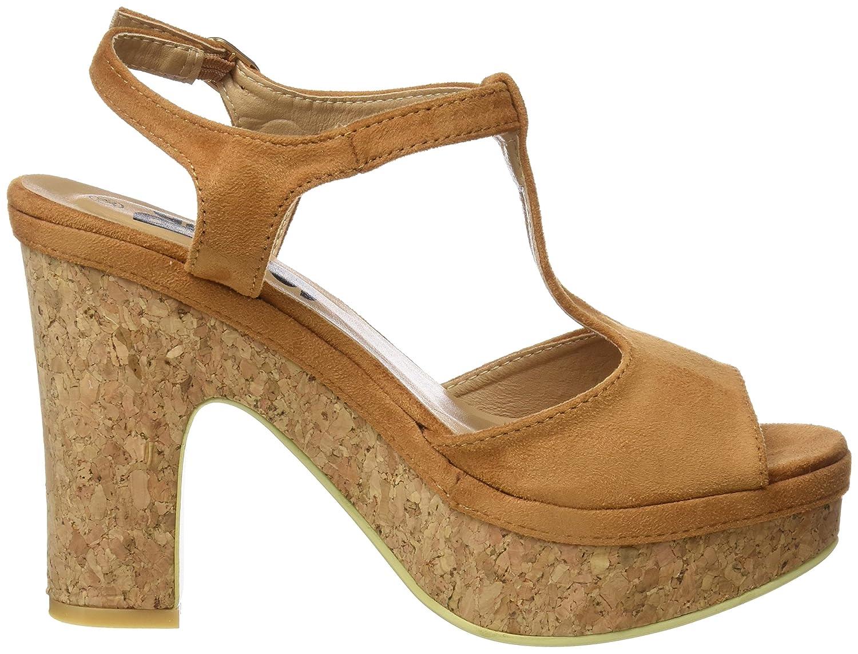 Plataforma Refresh Con 063518 Sandalias Camel 38 Para Hueso Mujer Eu PTxHEwqx