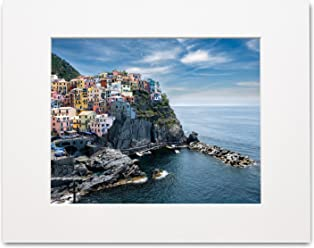 Matted Photo Print – Fits an 11X14in Frame – Cinque Terre, Italy