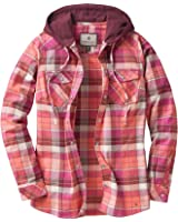 Legendary Whitetails Ladies Lumber Jane Hooded Flannel