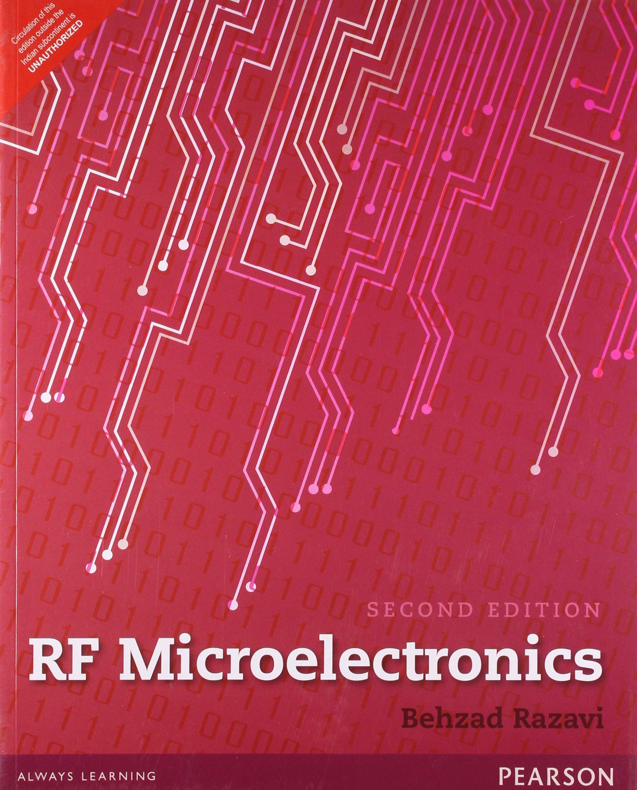 RF Microelectronics: Behzad Razavi: 9789332518636: Amazon com: Books