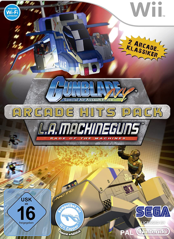 Arcade Hits Pack: Gunblade NY & L.A. Machineguns [Importación ...