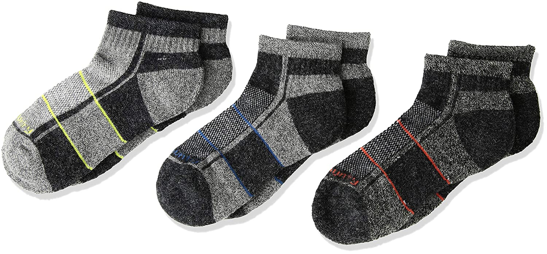 Free Country Boys 3-Pack Quarter Socks