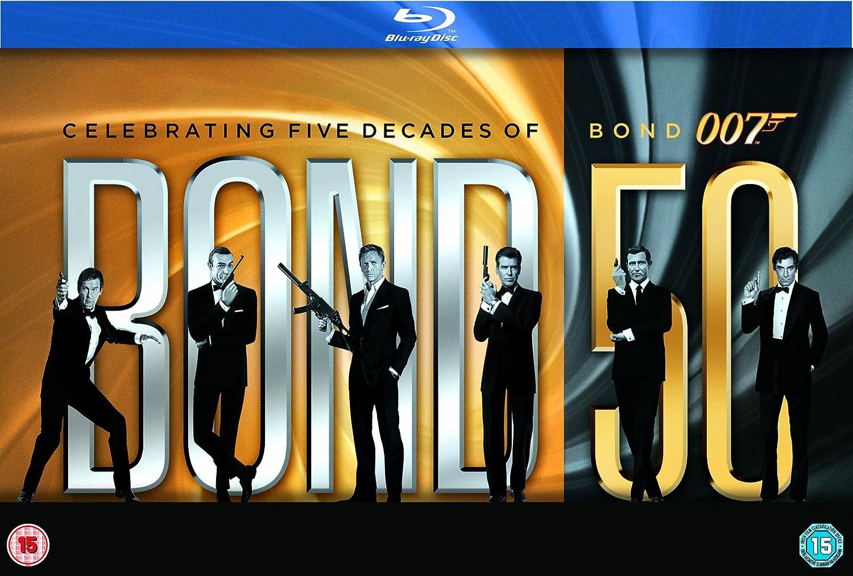 50th anniversary of james bond