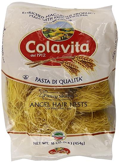 Amazon Com Colavita Vermicelli 1 Pound Grocery Gourmet Food